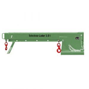 Chargeur télescopique, 3 hauteurs différentes, 5 T - vert