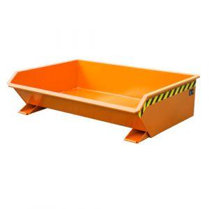 Benne basculante 610 L - orange
