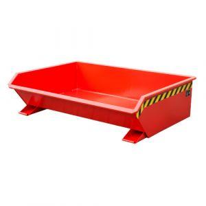 Benne basculante 610 L - rouge