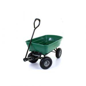 Chariot à main avec bac 75 litre