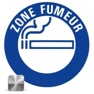 Panneau Zone fumeur Ø300mm