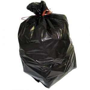 Sac poubelle noir 110 litres - Lot de 200 sacs