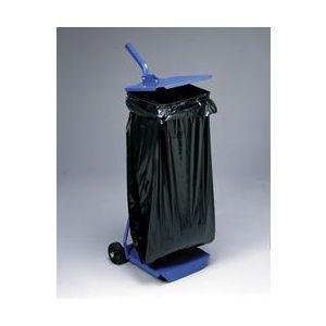 Support sac poubelle avec roulettes