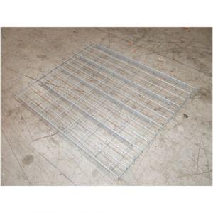 Platelage métallique   Dim : 890x(Prof.)1050mm