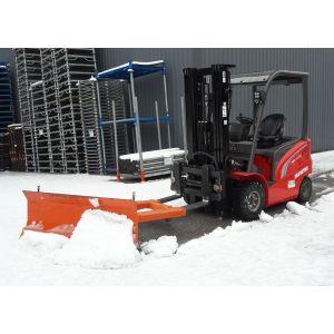 Lame chasse neige pour chariot élévateur