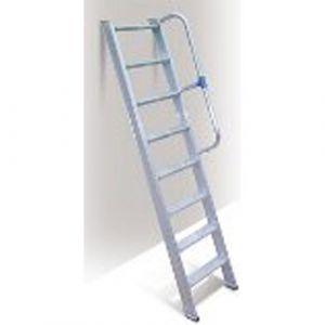 Escalier de travail avec garde corps  68°