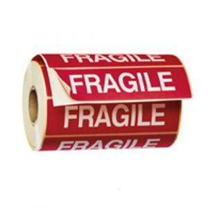 1000 étiquettes FRAGILE