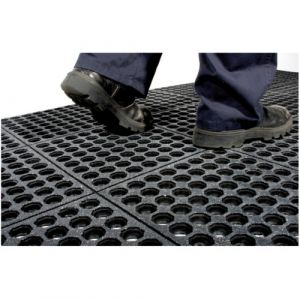 Tapis antifatigue en dalles modulaires