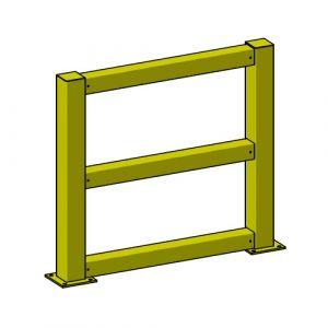 Barrières modulables acier