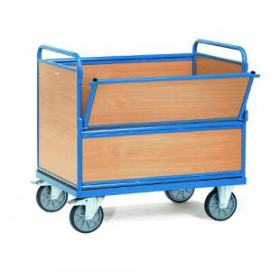 Chariot à panneau bois, 1060x715x1075 mm