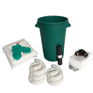 Kit d'absorbants - 90 L - Kit hydrocarbures