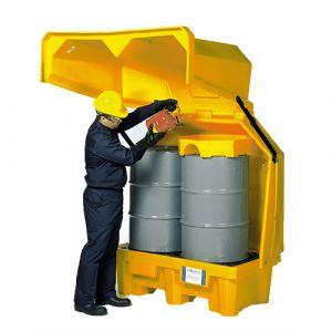 Box de stockage en PEHD