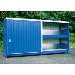 Conteneur à casiers - 2 niveaux soit 4800L