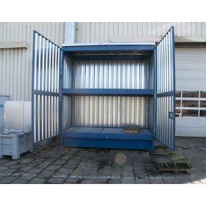 Conteneur à casiers - 2 niveaux soit 2000L