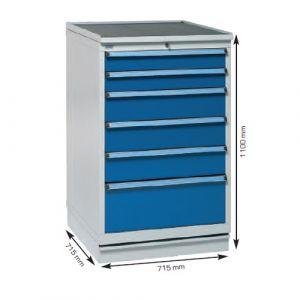 Armoire métallique à tiroirs 70/110 pour atelier