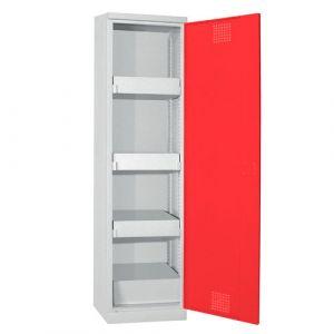 Armoire de sureté haute 1 porte Rouge