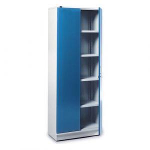 Armoire haute 2 portes + bacs