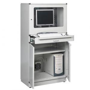 Armoire informatique sans distribution électrique