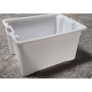 Bac Multi-usages 50 Litres blanc FP/CP