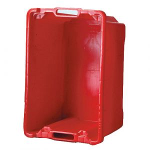 Bac multi-usages 50 litres rouge