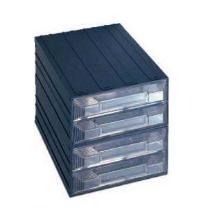 Lot de 2 blocs tiroirs fixes