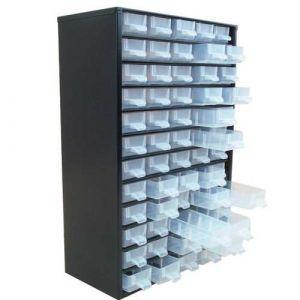 Bloc fixe en acier composé de 60 tiroirs de rangement