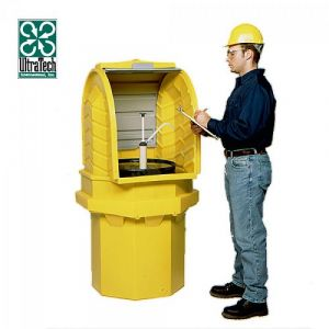 Box de stockage en PEHD pour 1 fût