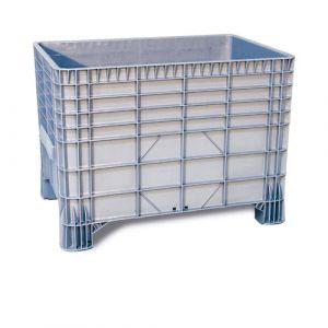 Caisse plastique à parois et fond pleins 550 litres