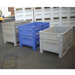 Caisse palette couleur bleue 620 litres