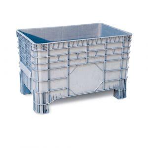 Caisse plastique à parois et fond pleins 285 litres