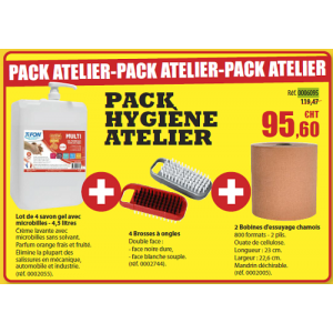 Pack Hygiène atelier