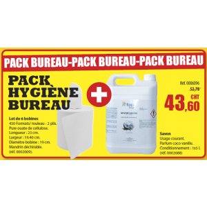Pack Hygiène bureau