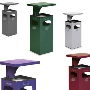 Cendrier poubelle