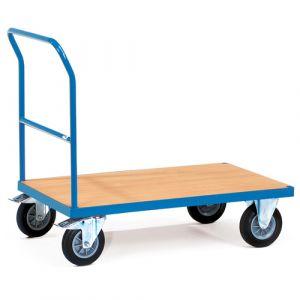 Chariot de magasin à plateau