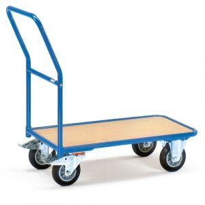Chariot de magasin à plateau 850x500 mm