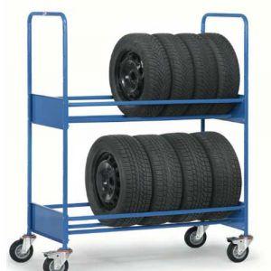 Chariot pour pneumatiques renforcé - Charge 500 kg