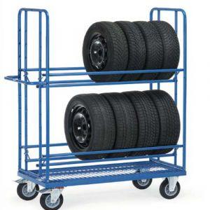 Chariot pour pneumatiques - Charge 400 kg