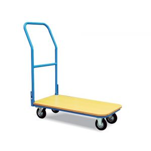 Chariot à plateau 200 kg - 850 x 430 mm