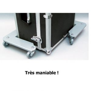 Coins roulants en métal - Force 600 kg