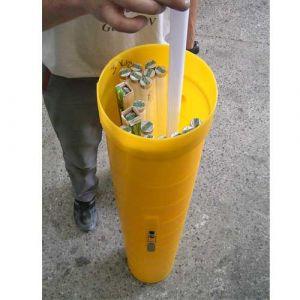 Collecteur de néons hauteur : 665 mm