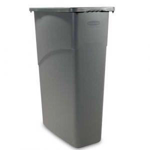 Corbeille grise 87,1 litres sans couvercle