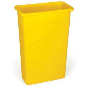 Corbeille jaune 87,1 litres sans couvercle