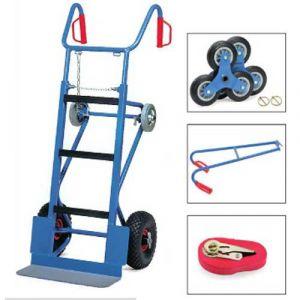 Chariot diable pour appareils complet - charge 400 kg