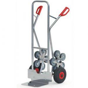 Diable escaliers en aluminium - charge 200 kg