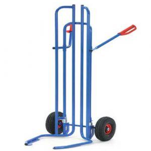 Chariot diable pour pneumatiques - charge 200 kg