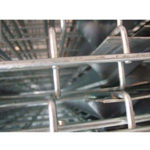 Plancher métallique 3 omégas - Dim : 1090x1100 mm - OCCASION