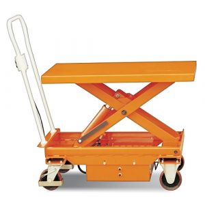 Table élévatrice électrique mobile 500 kg