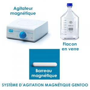 Système d'agitation magnétique pour Gentoo