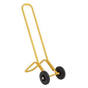 Diable à chaise - jaune - sans frein - L=440 mm - 75 kg