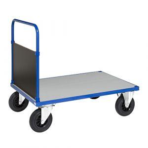 Chariot plateforme 1 poignée-1000x700x900mm-Sans frein